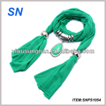 water drop pendant jewelry scarf wholesale jersey scarf