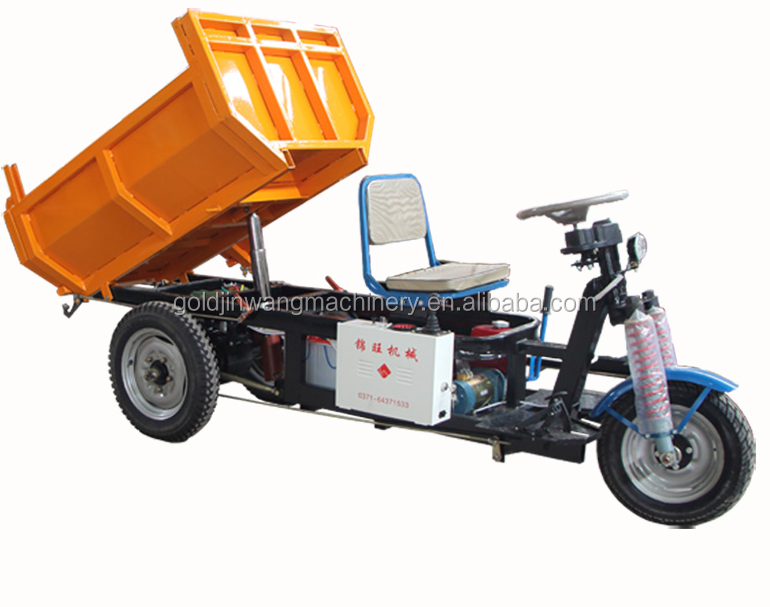 3 wheel battery operated and hydraulic system new three wheel motorcycle