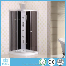 2015 Aluminum Glass Folding Door design glass shower rooms shower door with CE certificate