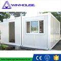 Latest designed easy transport prefabricated container house modular container house