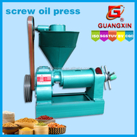 cold pressed coconut mini oil press machine 1 ton/24hr
