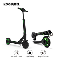 Koowheel 8inch 2 Wheel Motor 250W folding electric scooter foldable E bike for adult and kids