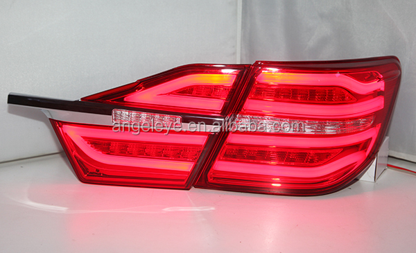 For TOYOTA Camry LED tail light Red Color 2014-2015 year BW