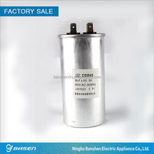 36uf 450v aluminum electrolytic capacitor for air conditioner