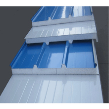 Color coated sheet high density polyurethane sandwich roof panel