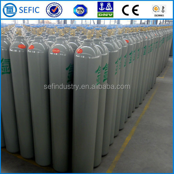 Low Price Seamless Steel Aluminum Alloy sell oxygen gas cylinder
