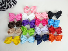 wholesale boutique ribbon bow kids hair accessories