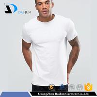 Promotion campaign men cheap cotton plain blank white t shirt below $1