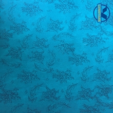 printed PU leather cotton backing for shoes