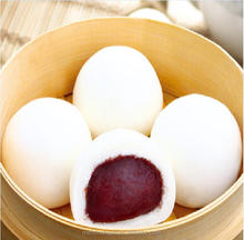 Chinese breakfast frozen food bean paste bun