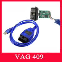 2016 Vag 409 VAG-COM 409.1 Vag Com 409.1 KKL OBD2 USB port VAG409.1 Cable Diagnostic Scanner Tool USB Interface For Aud-i/VW