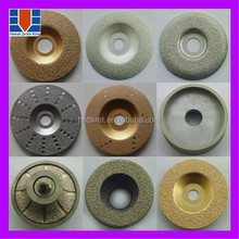 High quality brazed sanding discs for cutting granite