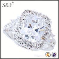 YIWU FACTORY!! Newest Style Crystal balloon ring