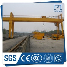 HY brand box girder traveling gantry crane 50TON