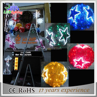 Cristmas window decoration/christmas decoration star you can import online