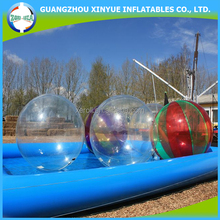 2016 Summer hot selling inflatable walk on water balls for sale