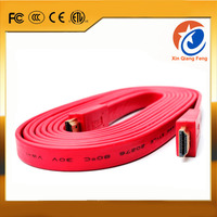 colorful noodle flat 1.4v high speed 19pin male to male hdmi cable