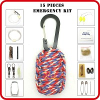 wholesale paracord survival gear for outdoor