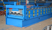 automatic building metal floor decking profile making machine roller former