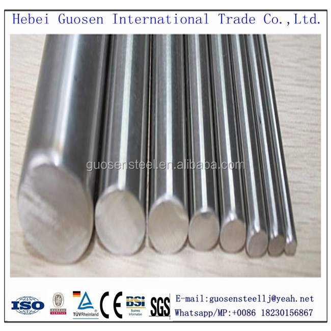 316 stainless steel bright round bar