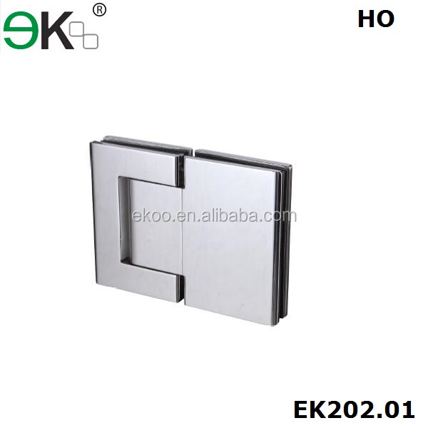 Stainless steel glass shower door hydraulic pivot hinge