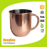 coffee mug wholesale/ stainless steel moscow mule copper mug