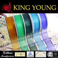 Satin silk organza ribbon wholesale