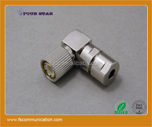 bt3002 cable plug right angle clamp 75ohm 1.6/5.6 connector