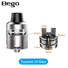 Elego Wholesale Geekvape Tsunami 24 Glass Newest Dripping Tip Tsunami 24 Glass