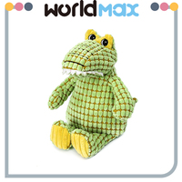 New Arrival Soft Cartoon Plush Toy Crocodile For Baby