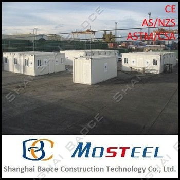 MoSteel Top 10 Prefab House Container for Mining Accommodation