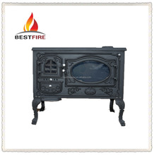 Cast iron material and wood stoves type multi fuel stoves