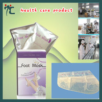 foot peel spa socks milky baby foot peeling mask for foot spa
