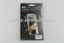 OEM ODM mobile phone mirror screen protector for Apple iPhone 5
