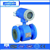 digital water magnetic flow meter measuring instrument china supplier