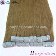 Large Stock Top Quality Virgin Hair Peruvian hair tape hair extensions with wholesale price accept Escrow