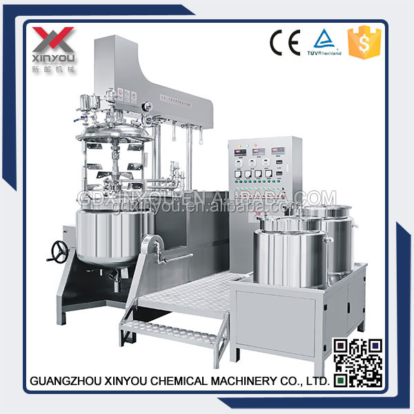 Vacuum Homogenizer Mixer for underarm whitening cream