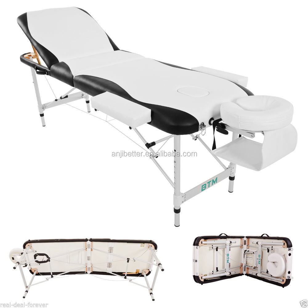 Portable Massage Table SPA Therapy Beauty Couch Bed Portable Folding Lightweight
