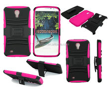 Rugged armor cellphone cases belt clip holster case for Samsung Galaxy Mega 6.3 i9200