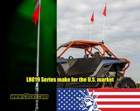 LED Light Whip flag for Buggy UTV ATV Off road