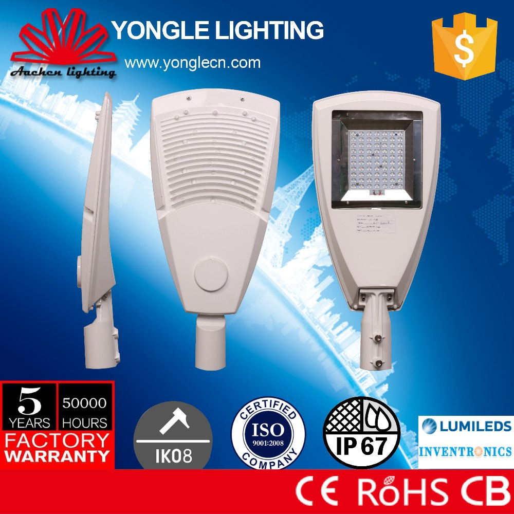 CE RoHS CB listed approved certification led street light price list india