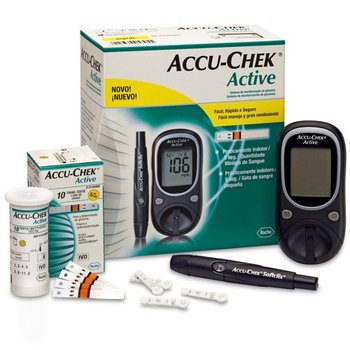 Accu chek Active Kit 16 dollar 810 pieces