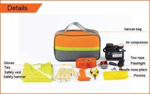 HF-4003(07) Hot Sale 19PCS Car Emergency Kit Outdoor Emergency Survival Tool Car Repair Safety Tools Kits (CE certificates)
