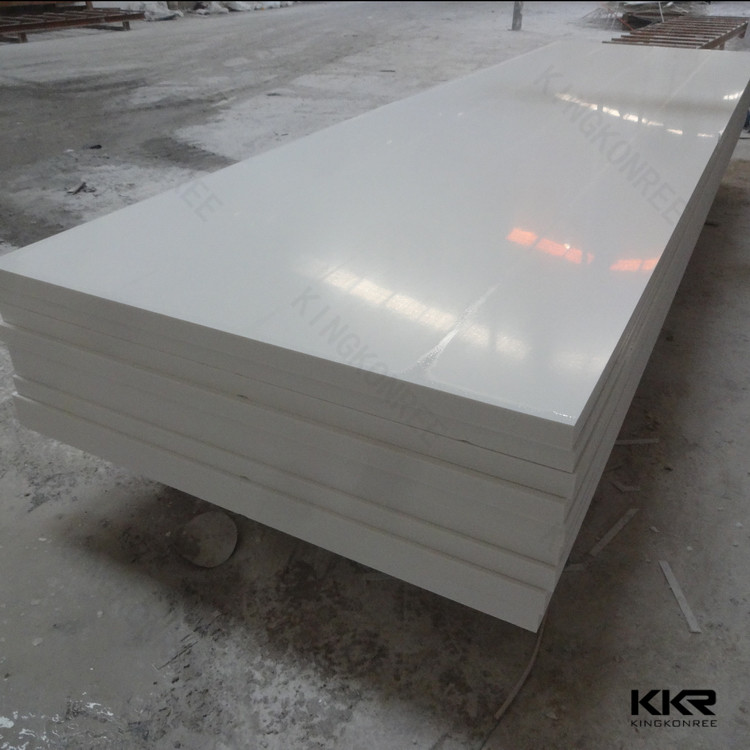 pure acrylic solid sure faces stone sheet SGS CE certification