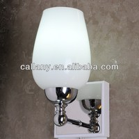 Indoor wall bracket lamp glass wall light fitting