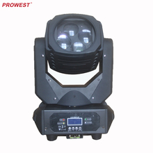 DMX 150W DJ Lighting 4*25W Super Beam LED Moving Head Lights For Stage Wedding Decorative