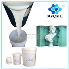 High strength rtv2 silicone rubber for gypsum statues mold making