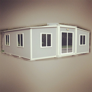 2018 New movable prefab container house 20ft home moneybox 2017 doha exhibition with great price