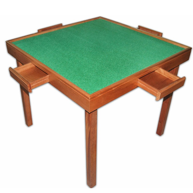 Mahjong Table Foldable Wooden Mahjong Table