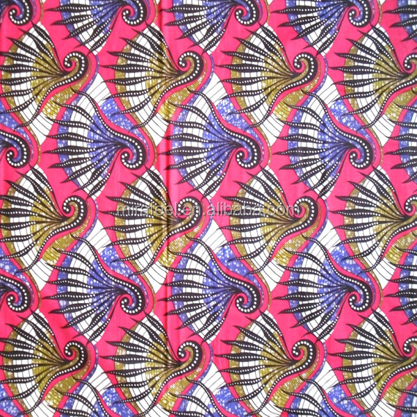 blue african real wax batik fabric african wax prints hollandais super java veritable wax block
